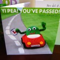 """You've passed"" card"