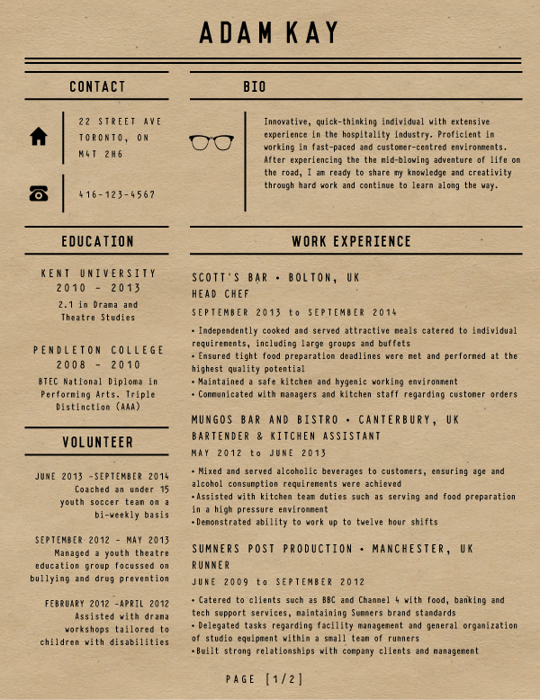 Jade Williamson CV