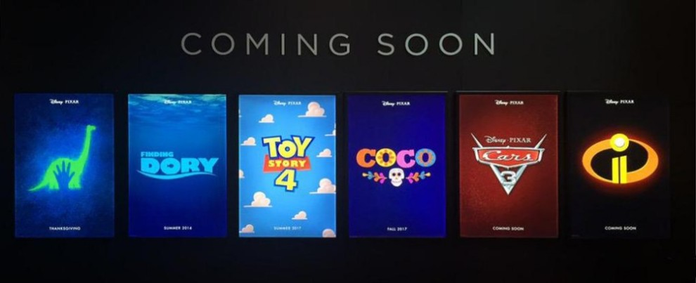 D23 2015 Pixar Coming Soon