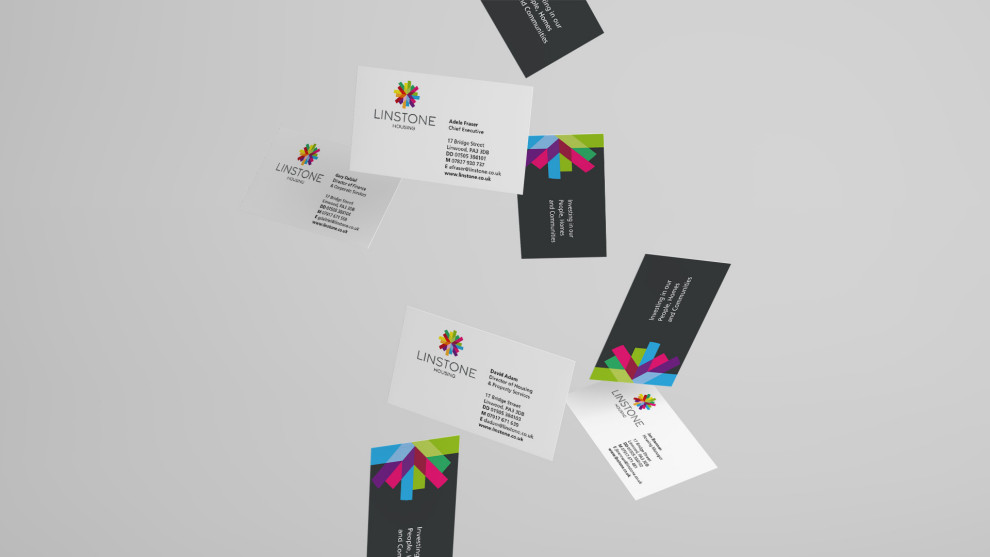 Linstone Housing business cards