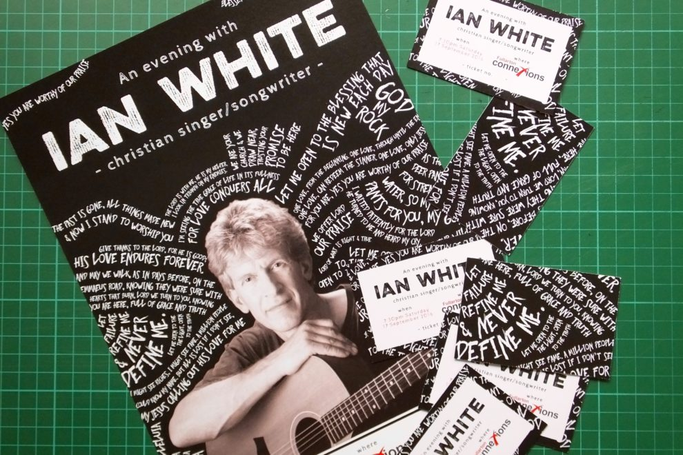 An evening with Ian White concert 1