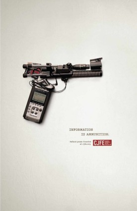 """Information is ammunition"""