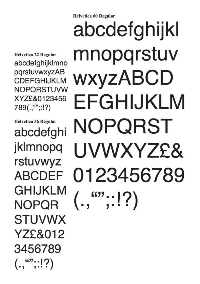 Helvetica & Comic Sans Dissertation