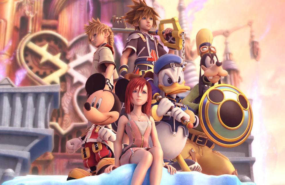 Kingdom Hearts II poster