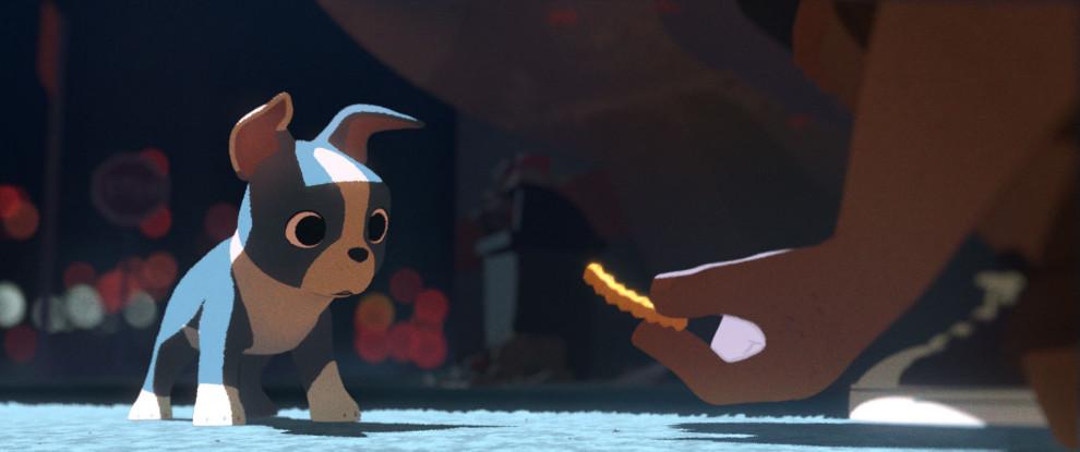 Feast short film screenshot