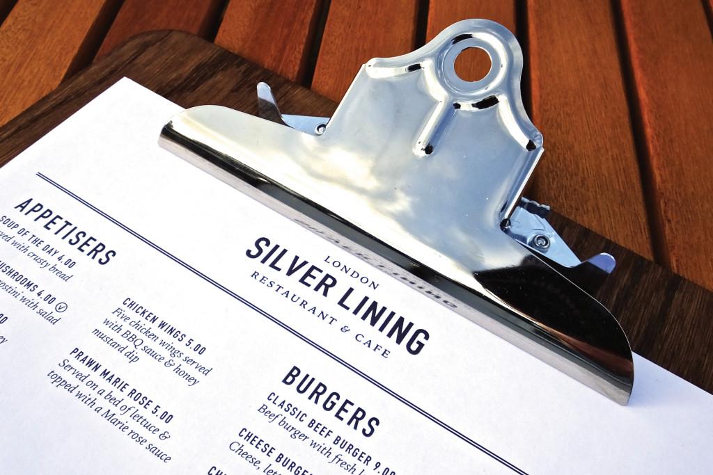 Silver Lining Menu Photo 11