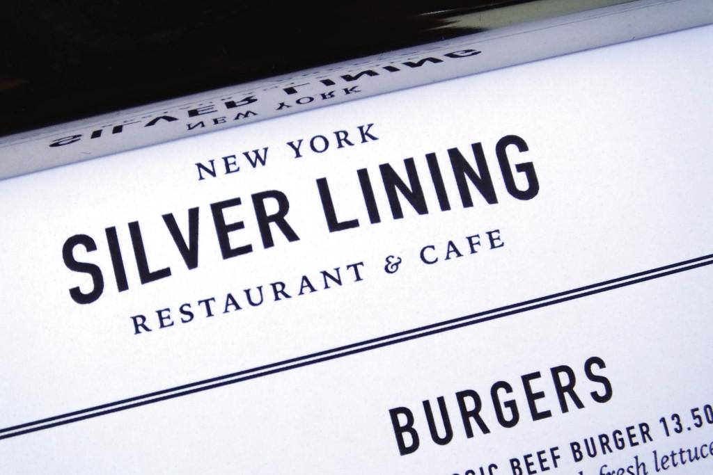 Silver Lining Menu Photo 5