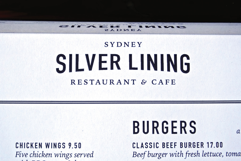 Silver Lining Menu Photo 2