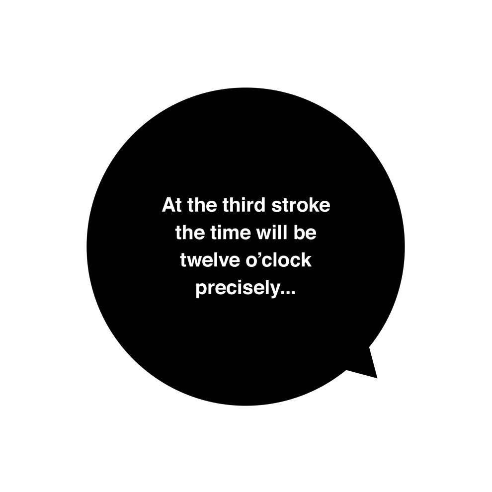 Time Illustration Two: Speaking Clock