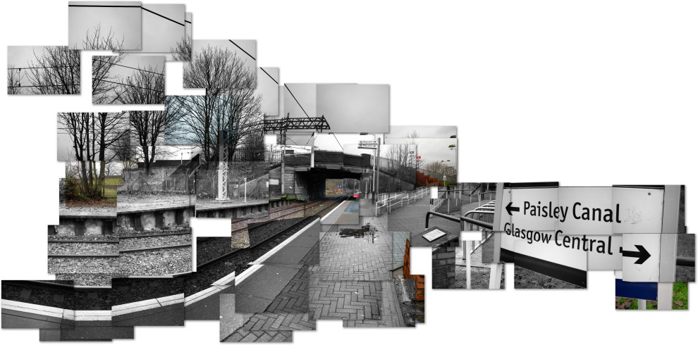 train station montage