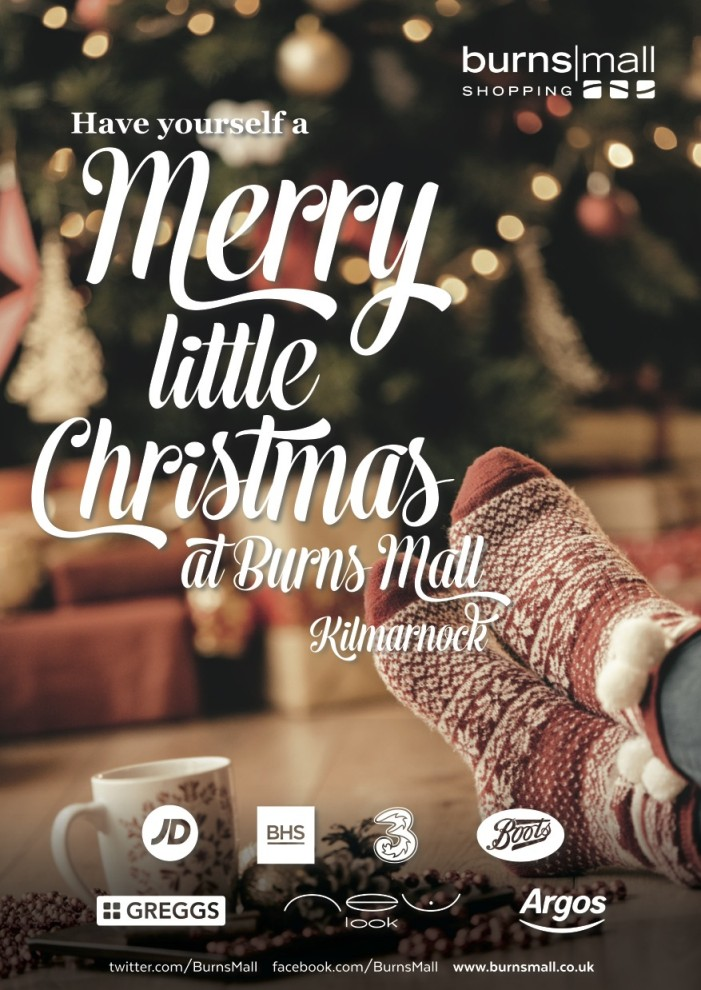 Burns mall christmas advert