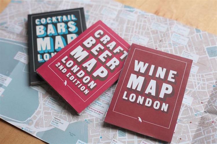 Blue Crow Media's Folding London Maps