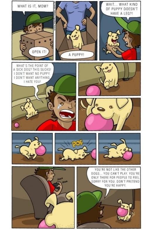 Comic Strip created by Fabio Coala 1