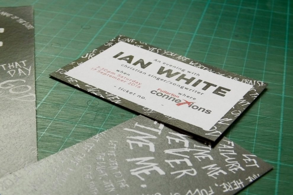 An evening with Ian White concert 2