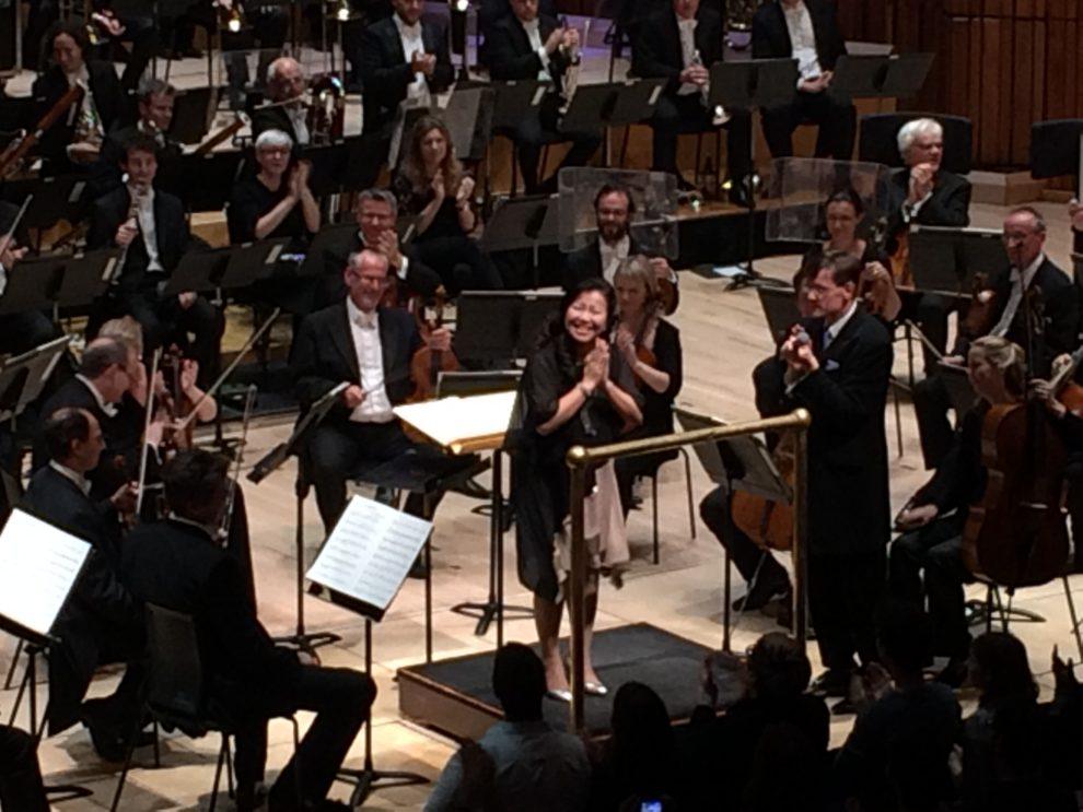 Yoko Shimomura with the London Symphony Orchestra